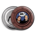 Decorative magnet bottle opener Blake and Mortimer, HO ! (55mm)