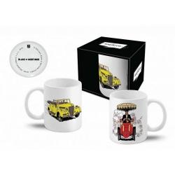 Taza mug en cerámica Blake y Mortimer (El convertible amarillo)