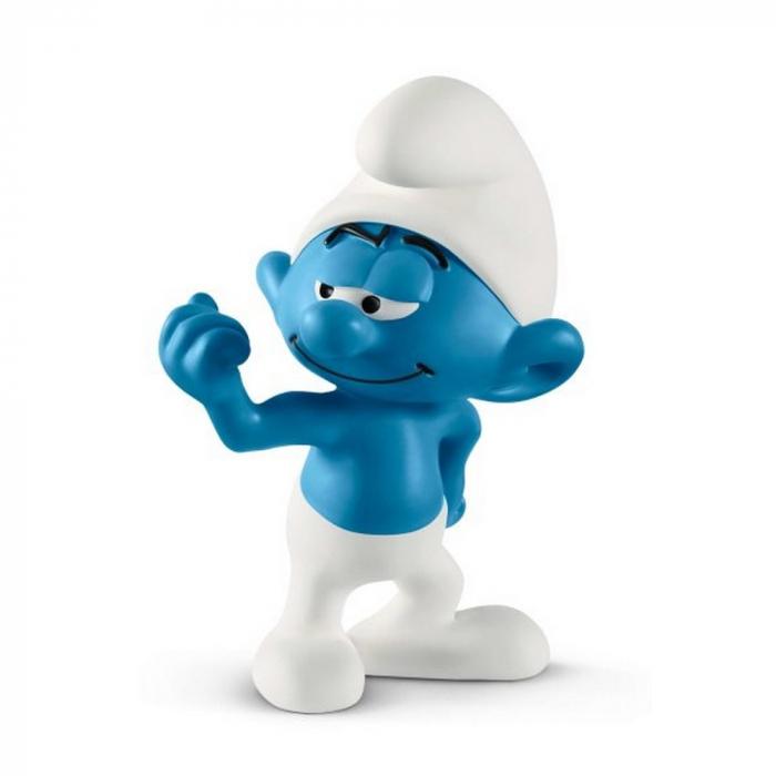 The Smurfs Schleich® Figure - Hefty Smurf (20811)