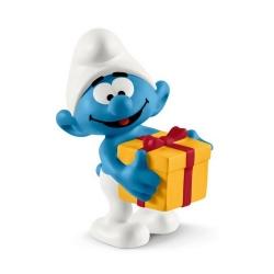 Figurine Schleich® Les Schtroumpfs - Schtroumpf avec cadeau (20816)