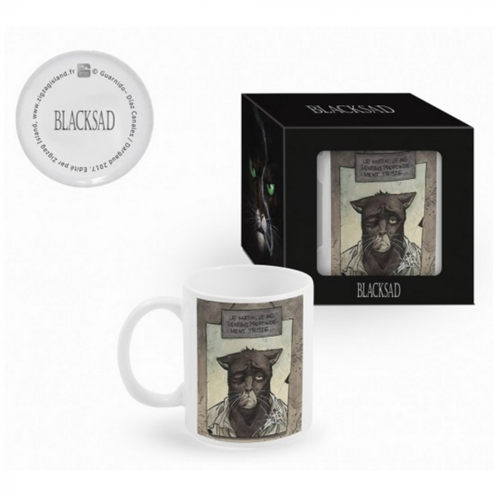 Taza mug en cerámica Blacksad (La Mañana)