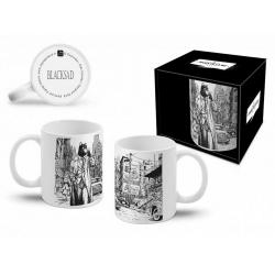Tasse mug en céramique Blacksad (Ville Noir et Blanc)