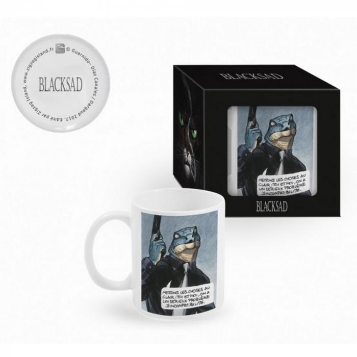 Ceramic mug Blacksad (Let's clear things up)