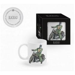 Tasse mug en céramique Blacksad (John sur moto Triumph)