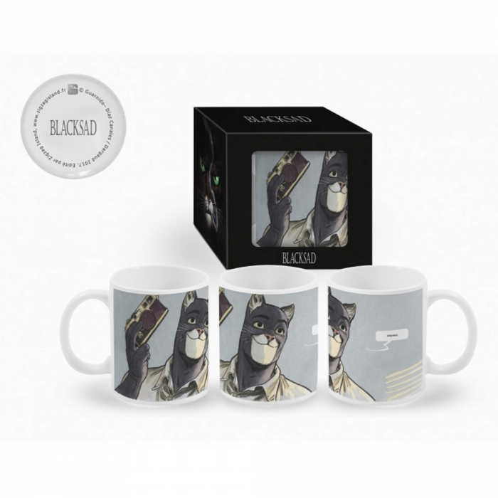 Ceramic mug Blacksad (Photographer)