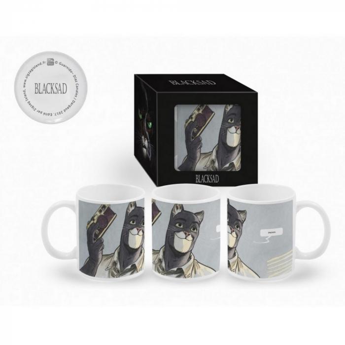 Taza mug en cerámica Blacksad (Fotógrafo)