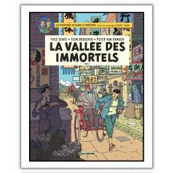 Poster offset Blake and Mortimer, La vallée des immortels (28x35,5cm)