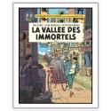Póster cartel offset Blake y Mortimer, La vallée des immortels T1 (28x35,5cm)