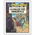 Poster offset Blake and Mortimer, La vallée des immortels T1 (28x35,5cm)