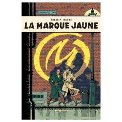 Postcard Blake and Mortimer Album: La Marque Jaune (10x15cm)