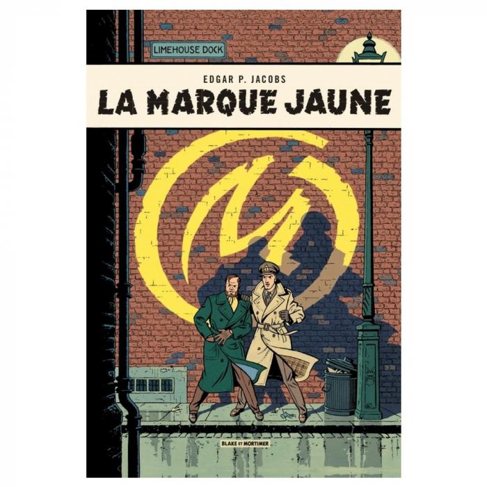 Postcard Blake and Mortimer: La Marque Jaune (10x15cm)