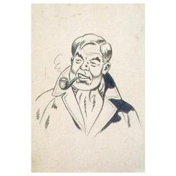 Carte postale de Blake et Mortimer: Philip Mortimer (10x15cm)