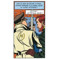Postcard Blake and Mortimer: La Marque Jaune (10x15cm)