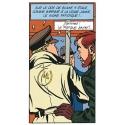 Postal de Blake y Mortimer: Damned, La Marque Jaune (10x15cm)
