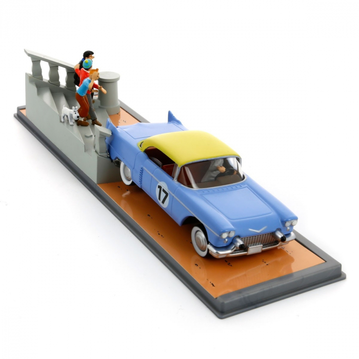 Figurine de collection Tintin La Cadillac Eldorado Nº6 29106 (2008)