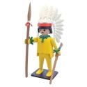 Figura de colección Plastoy Playmobil el Jefe Indio Amarillo 00265 (2018)