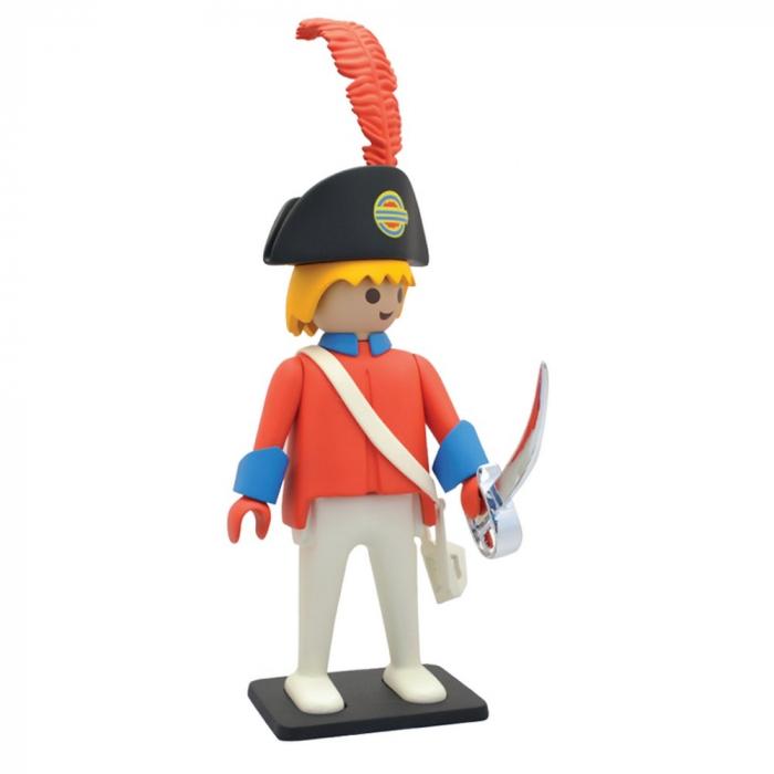 Figurine de collection Plastoy Playmobil l'officier de la garde 00213 (2017)