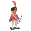 Figura de colección Plastoy Playmobil el Oficial de la Guardia 00213 (2018)