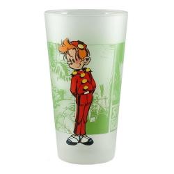Vaso de colección Spirou y Fantasio (Spirou en pie)