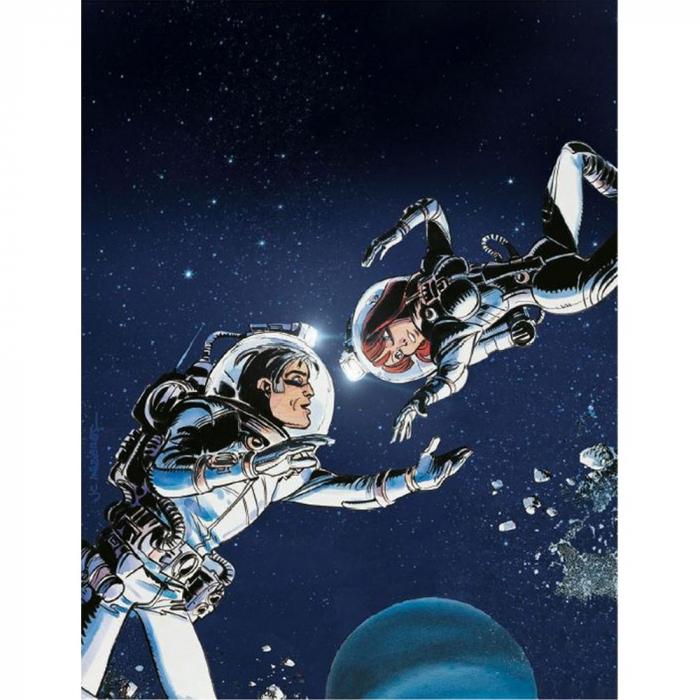 Poster offset Valérian Mézières, Dance under the stars (18x24cm)