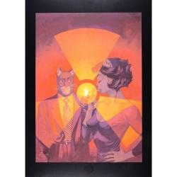 Poster affiche offset Blacksad Juanjo Guarnido, Âme Rouge (24x18cm)