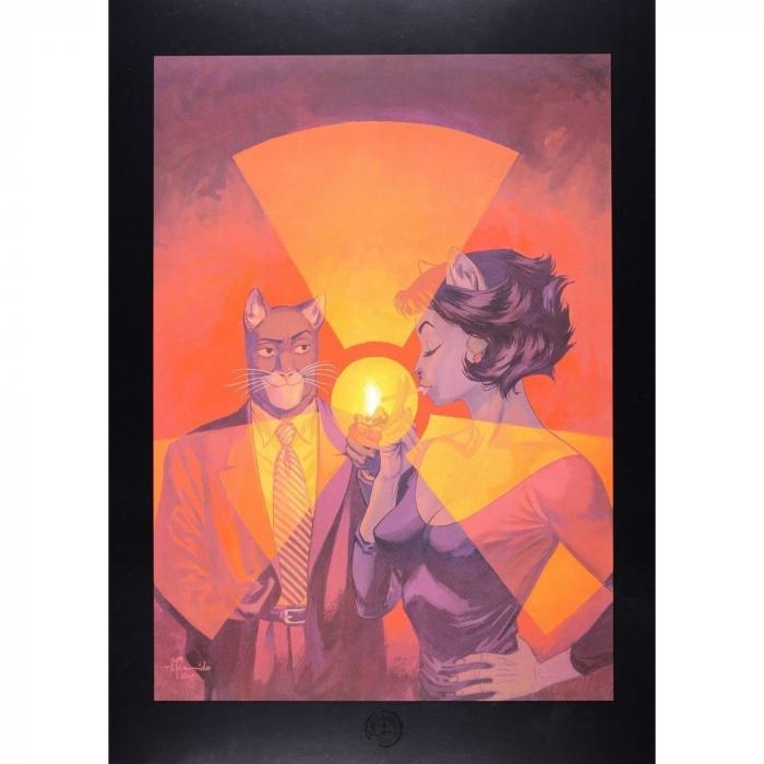 Poster offset Blacksad Juanjo Guarnido, Red Soul (24x18cm)