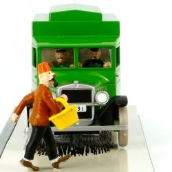 Figurine de collection Tintin Le Fourgon cellulaire Ottokar Nº5 29105 (2008)
