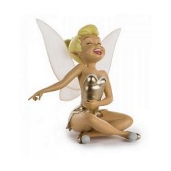 Figurine de collection Leblon-Delienne Disney Peter Pan: Fée Clochette (Dorée)