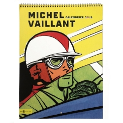 Calendario de pared 2019 Michel Vaillant Art Strips (31x46cm)