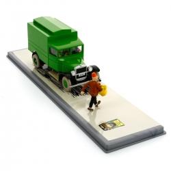 Collectible car Tintin Prison van King Ottokar's Sceptre Nº5 29105 (2008)