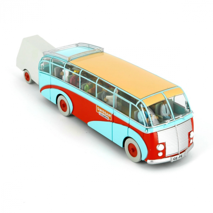 Figurine de collection Tintin L'Autobus Swissair Hors-Série Nº2 29581 (2008)