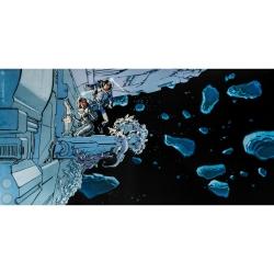 Póster cartel offset Valérian Mézières, El Espacio (50x25cm)
