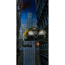 Póster cartel offset Valérian Mézières, Círculos del Poder (50x100cm)