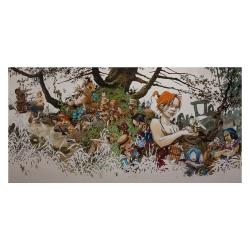 Poster affiche offset Régis Loisel, Peter Pan (100x50cm)