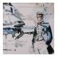 Postcard Corto Maltese, Avevo un Appuntamento (14x14cm)
