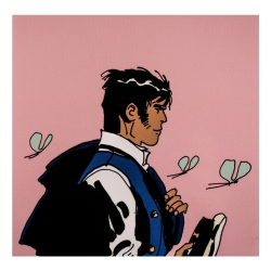 Postcard Corto Maltese, Corto without women (14x14cm)