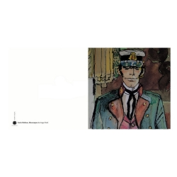 Double Postcard Corto Maltese, Mauresque (14x14cm)