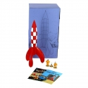 Collectible Pack: The Lunar Rocket with the Tintin, Haddock and Snowy Figures