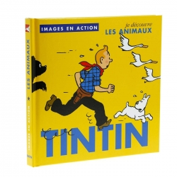 Children's Book editions Moulinsart Tintin, The animals 24371 (2018)