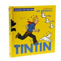 Livre pour enfants éditions Moulinsart Tintin, Les animaux 24371 (2018)