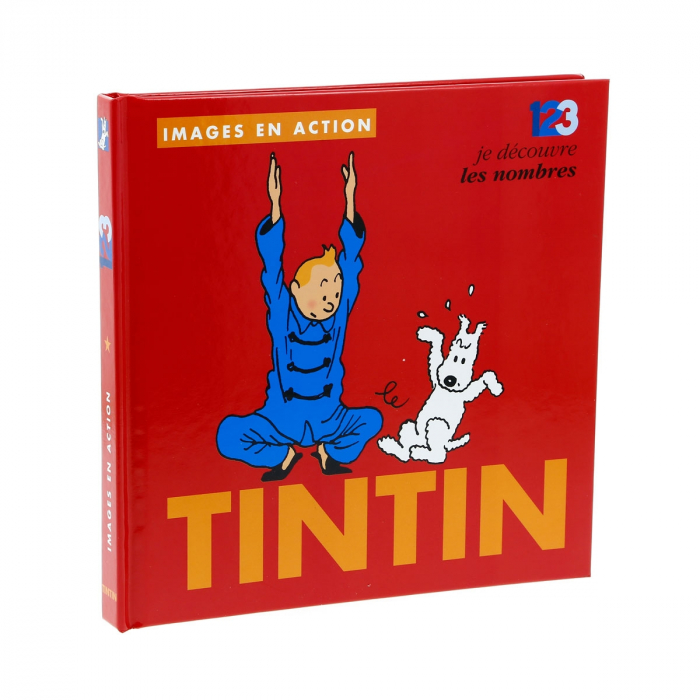 Children's Book editions Moulinsart Tintin, The numbers 24372 (2018)