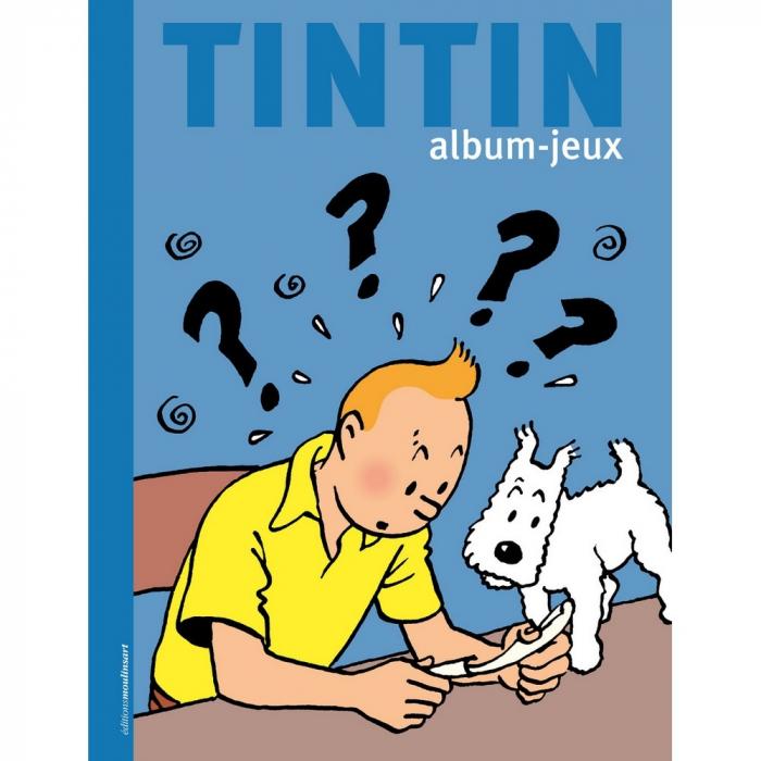 Children's Book Activities editions Moulinsart Tintin 24380 (2018)