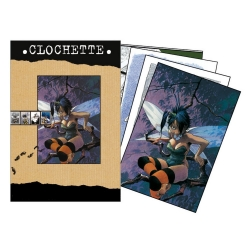 Set de 18 Cartes postales de Loisel, Fée Clochette (10x15cm)