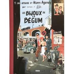 Deluxe album Black & White Atom Agency T1: Les Bijoux de la Bégum (2018)