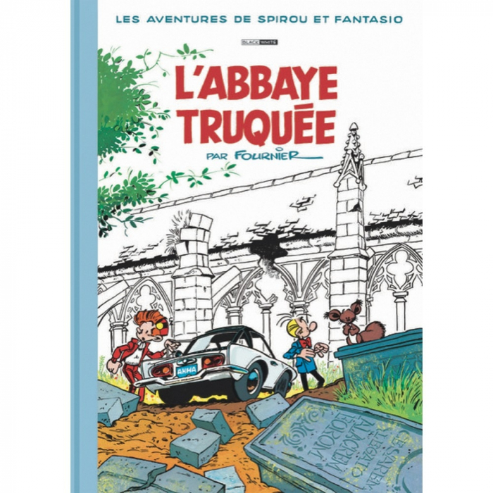 Álbum de lujo Black & White Spirou y Fantasio: L'Abbaye Truquée (2018)