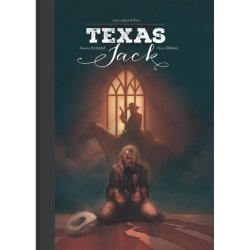 Álbum de lujo Black & White Texas Jack (2018)