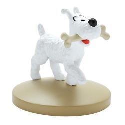 Figurine de collection Tintin Milou avec son os Moulinsart 42222 (2018)