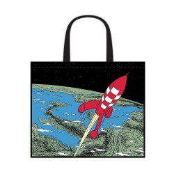 Semi-Waterproof Bag Tintin: Destination Moon 45x38x20cm (04244)