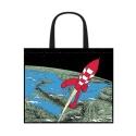 Semi-Waterproof Bag Tintin: Destination Moon 45x38x20cm (04244)
