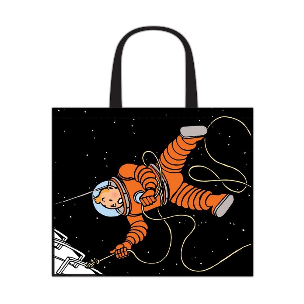 qualité de la marque super populaire style le plus récent Sac semi-imperméable Tintin On a marché sur la Lune 45x38x20cm (04245) - BD  addik